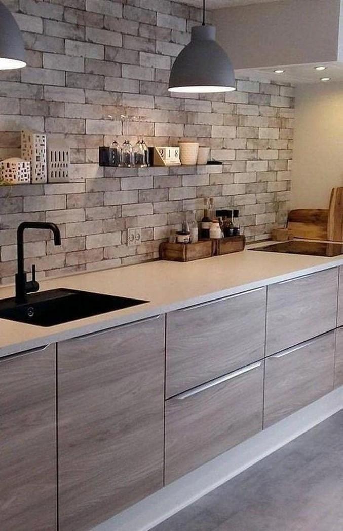 75 Stunning Modern Contemporary Elegant Kitchen Design Ideas 2019 Page 6 Centralcheff Co Modern Kitchen Interiors Kitchen Design Interior Design Kitchen