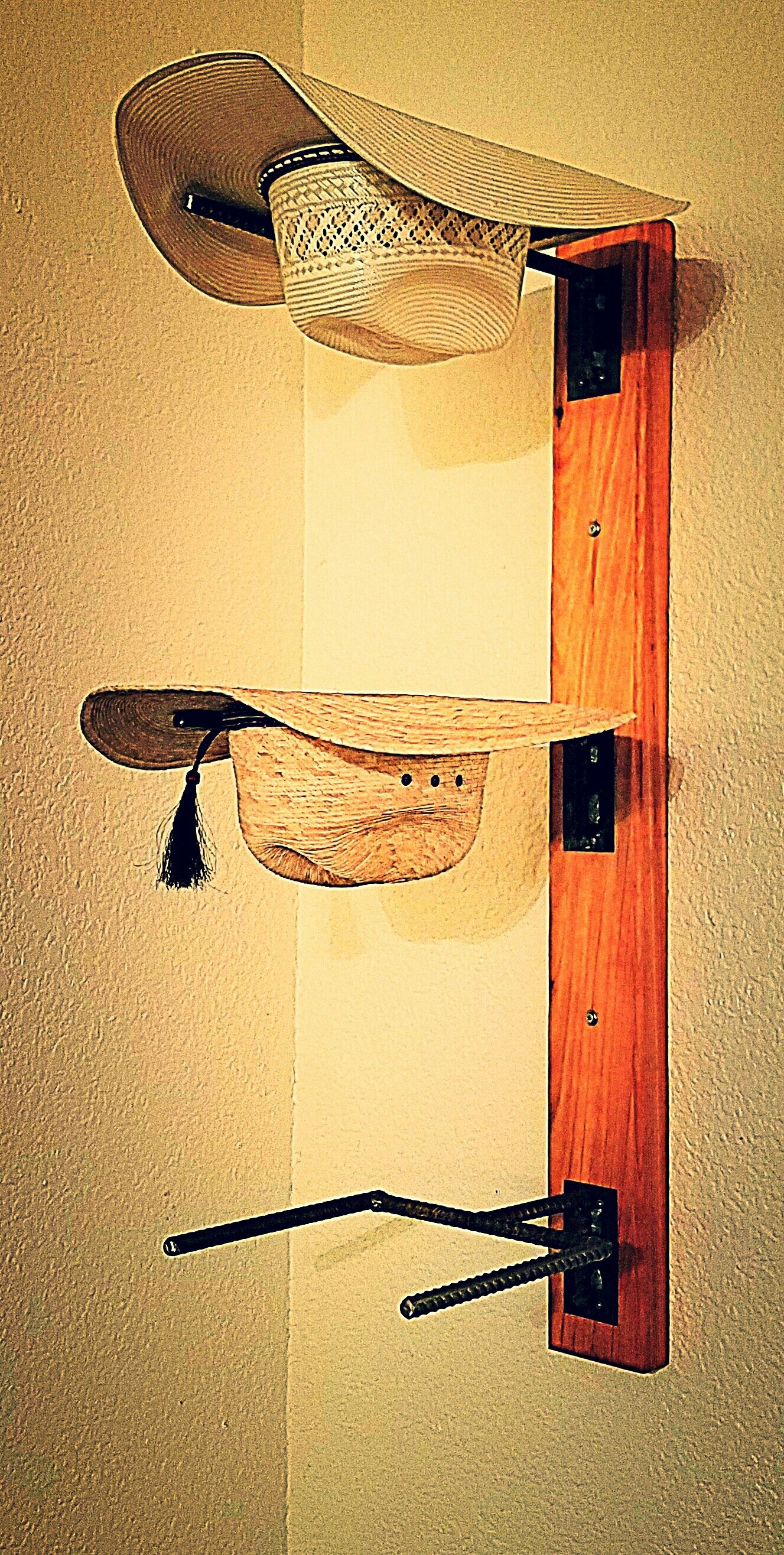 15 Creative Hat Rack Ideas Pros Cons For Cozier Home Diy Hat Rack Cowboy Hat Rack Hat Rack