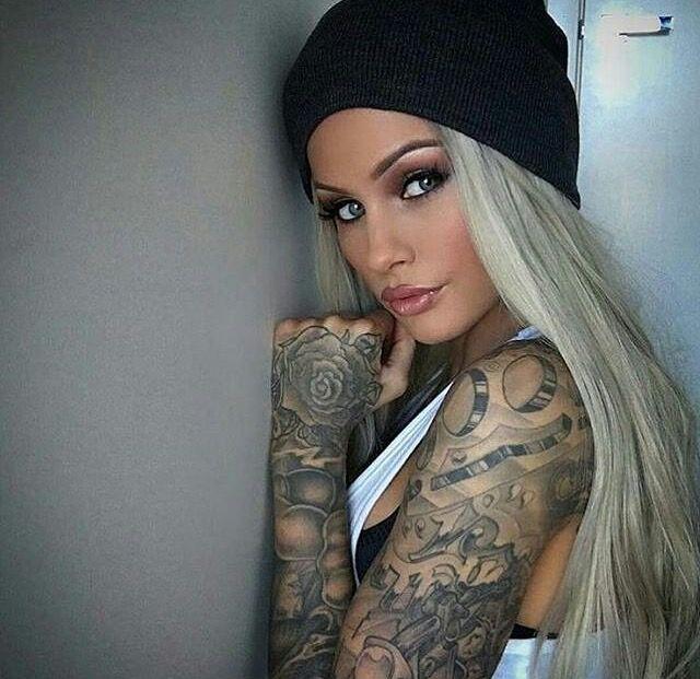 tattooed girl tattoos tattoos girl tattoos inked girls