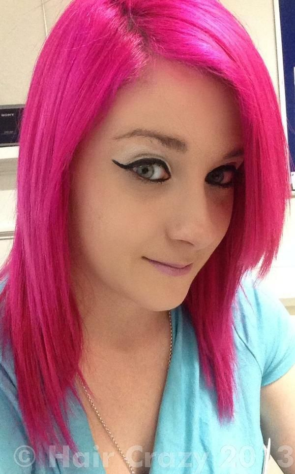Pink Hair Photos Splat Hair Dye Pink Hair Dye Hot Pink Hair
