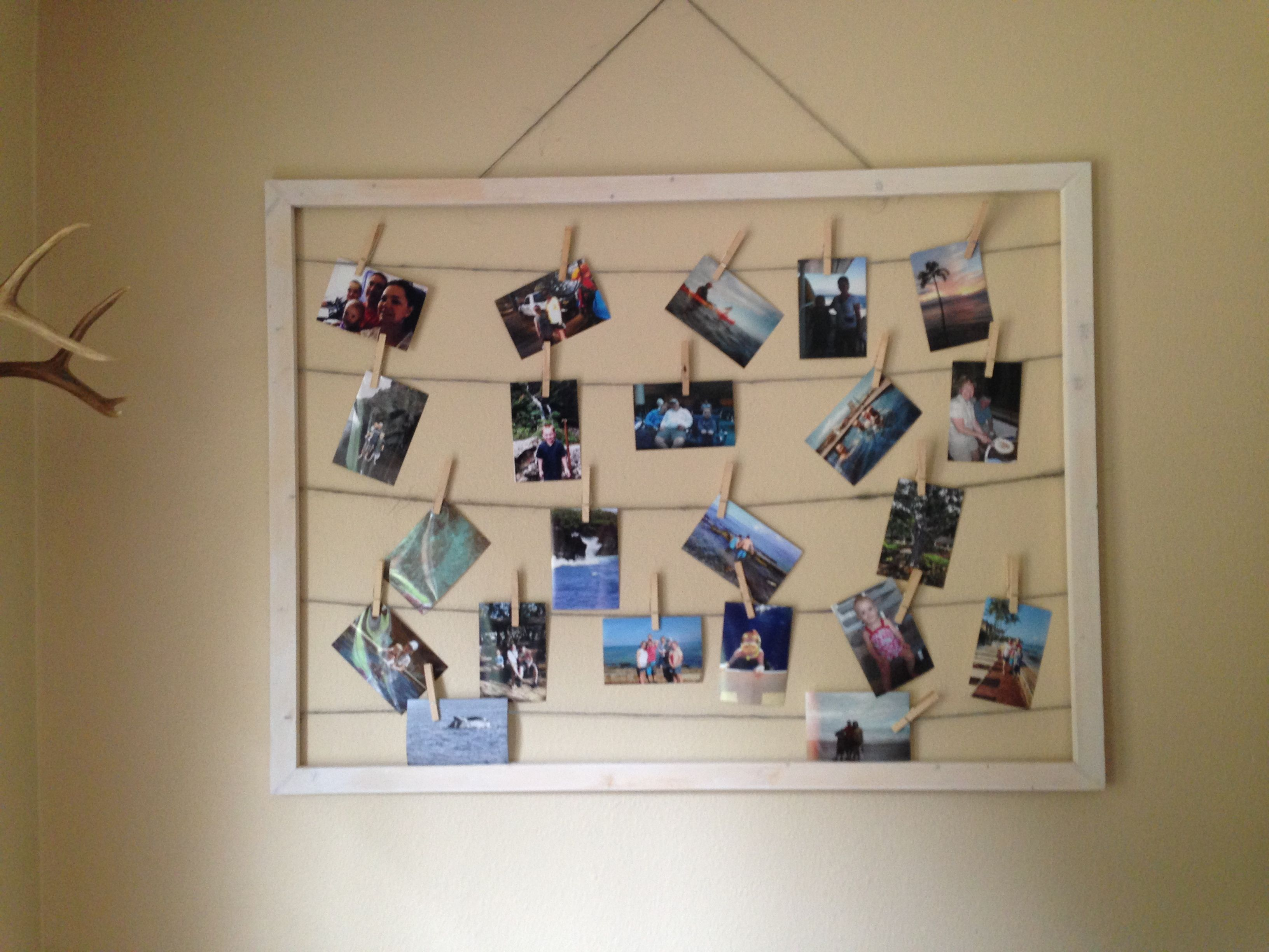 Homemade Picture Frame Things I Ve Finished Pinterest