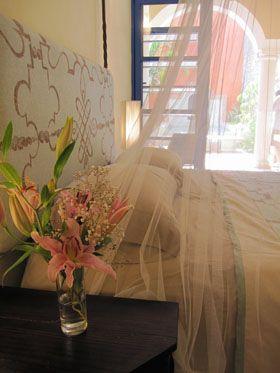 Master Bedroom at Casa Granada Vacation Rental in Yucatan, Mexico