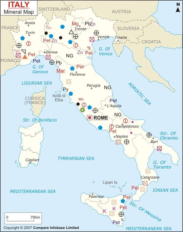 Mineral Map Of The World.Italy Mineral Map Maps Of World Pinterest Map Minerals And Italy