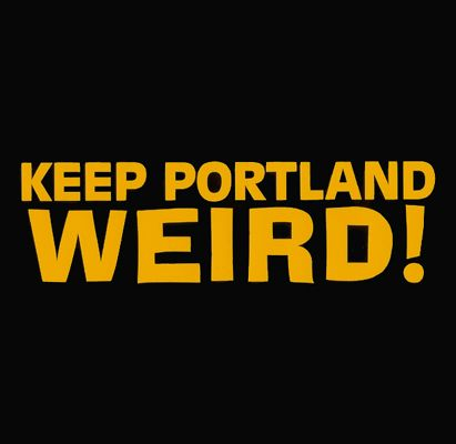 Keep Portland Weird Sticker 6