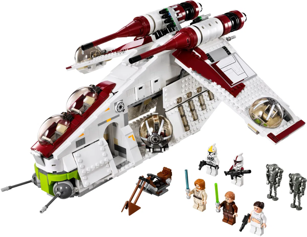 Lego Star Wars Sets 2020 Busqueda De Google New Star Wars Lego Star Wars Sets Republic Gunship