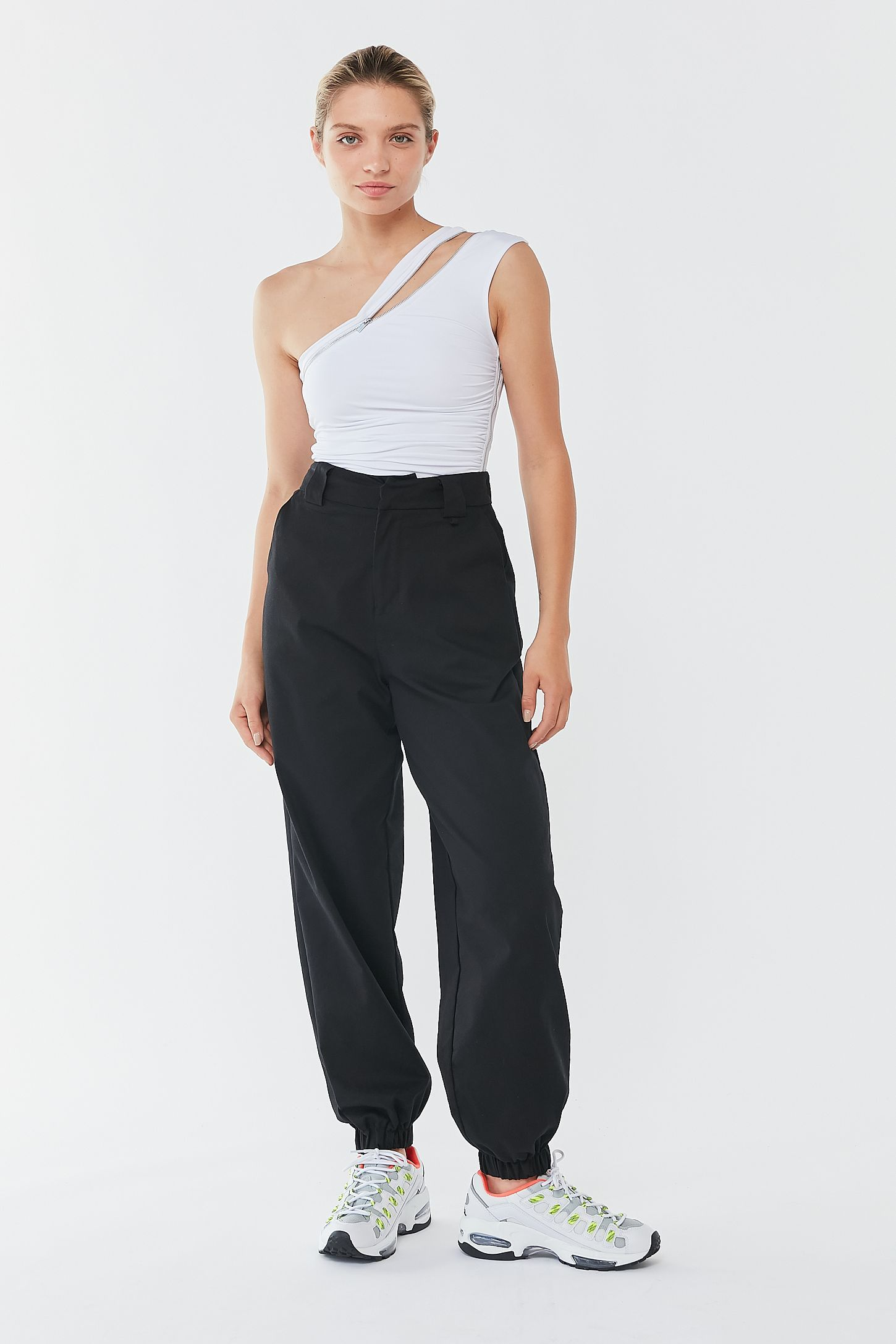 I.AM.GIA Lucienne Zippered OneShoulder Tank Top I.am