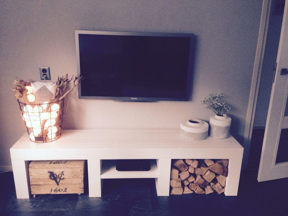 101 Woonideeen Tv Meubel.Tv Meubel Steigerhout Haardhout Interieur Meubels Tv Meubels
