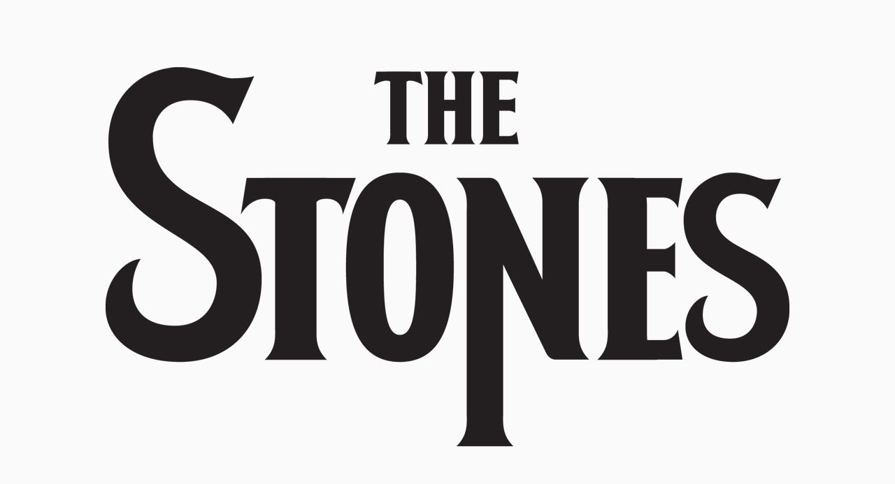 ROLLING STONES · THE FIFTY NEWS LOGOS PROYECT