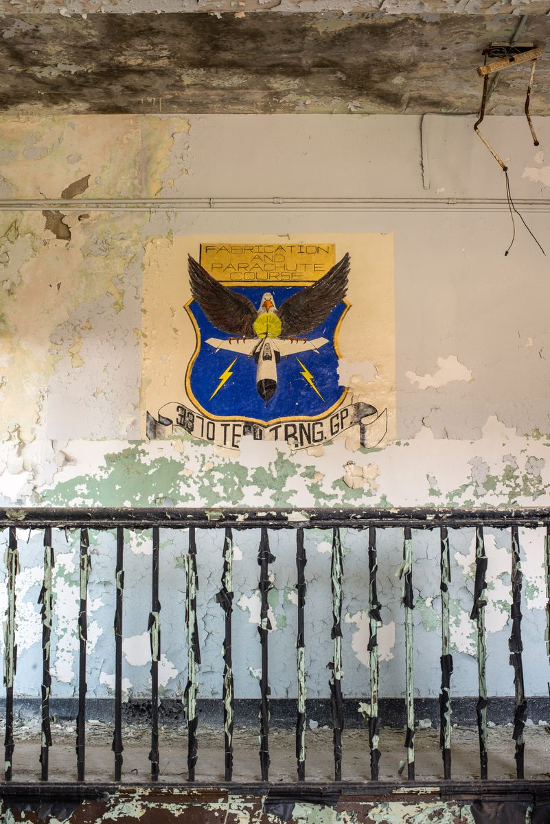 What Was The Chanute US Air Force Base Abandoned Spaces