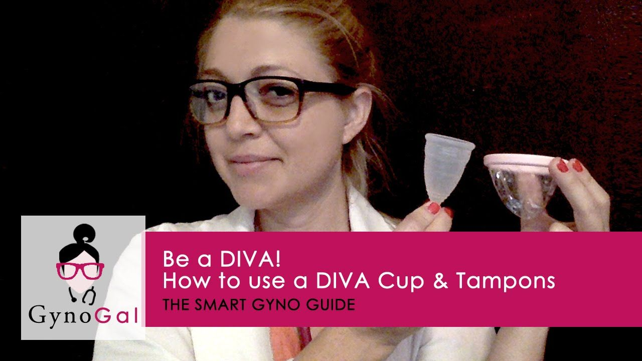 GG Presents How to Insert Tampons, the Diva Cup, and the