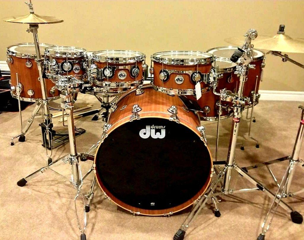 drums instruments drum dw