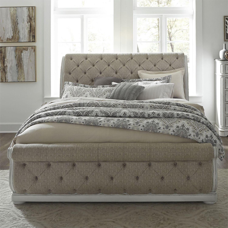 Elizabeth Upholstered Sleigh Bed Bedroom Collection Upholstered
