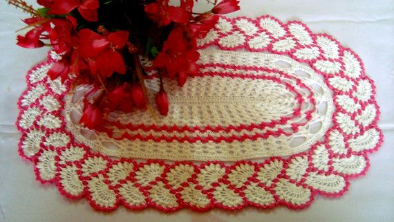 Crochet Handmade DoilyCrochet home decorCrochet by MyRoseCrochet