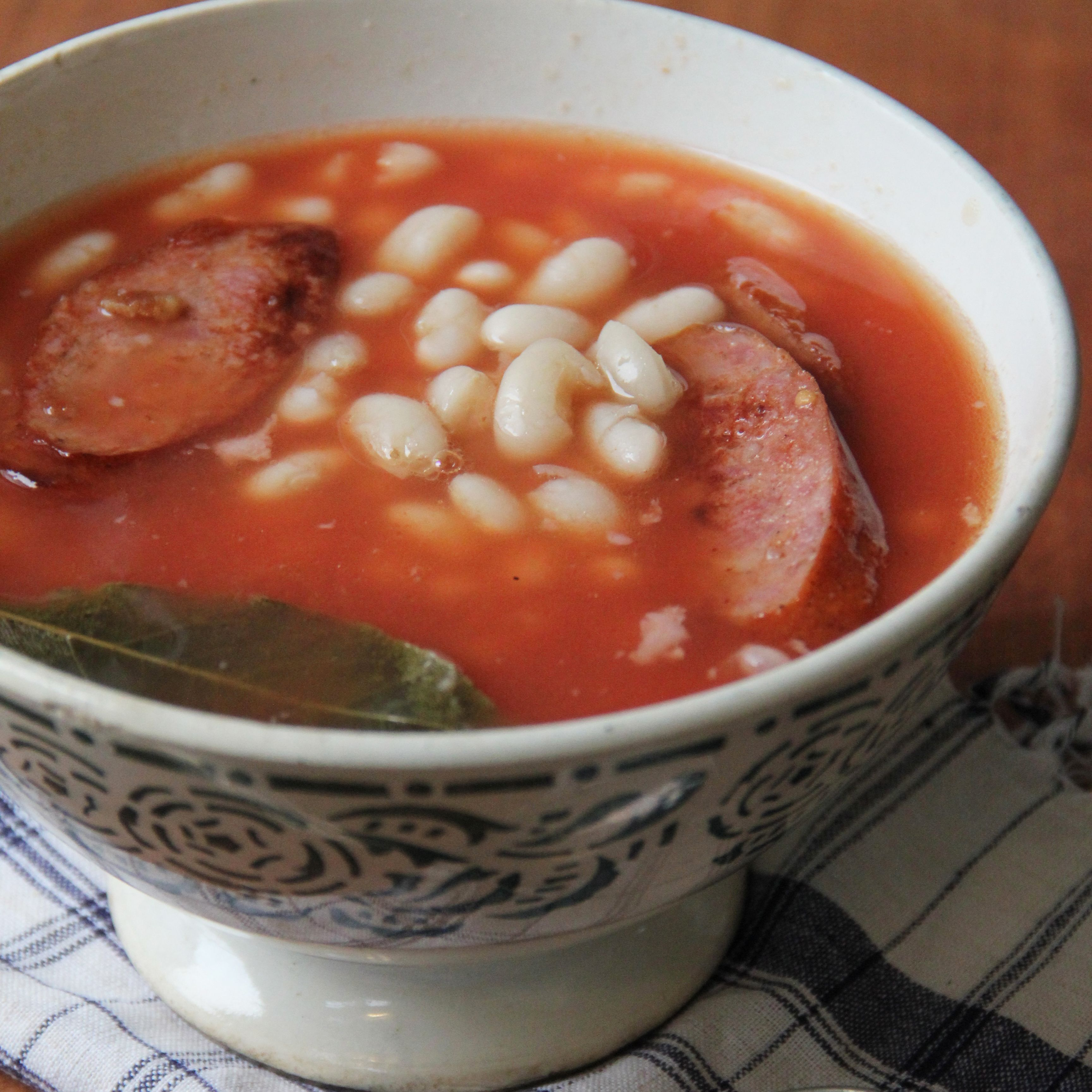Portuguese Bean And Sausage Soup Recipe Recipe Bean And Sausage Soup Bean Soup Recipes Sausage Soup