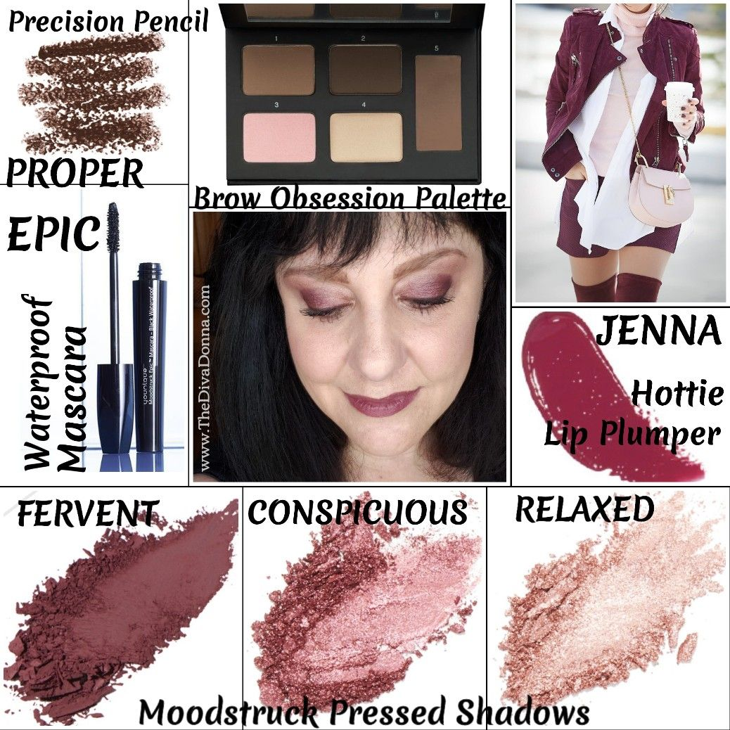 Younique Moodstruckpressedshadow Fallbeautybag Eyes In Rose Gold
