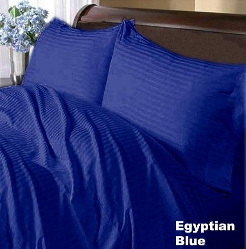Twin XL Size All Striped Bedding Items 1000TC 100/%Egyptian Cotton Select Item