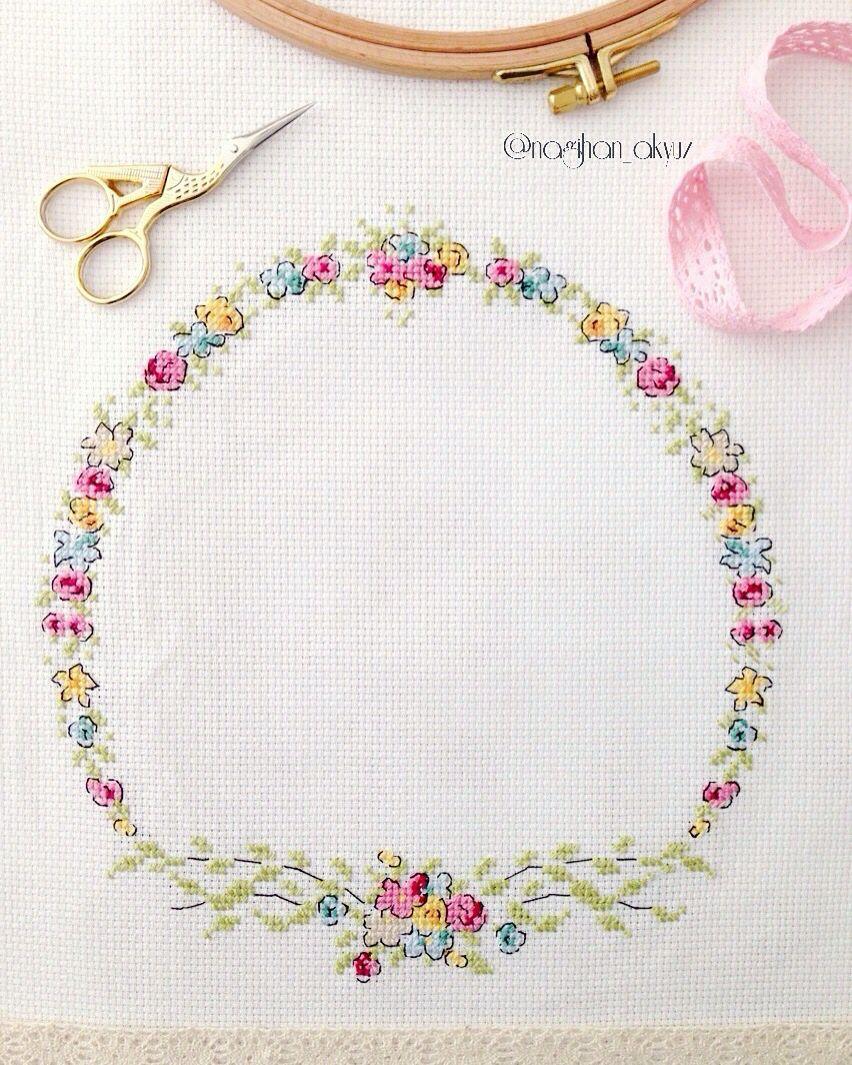 Cross stitch kanaviçe px pinterest cross stitch stitch and