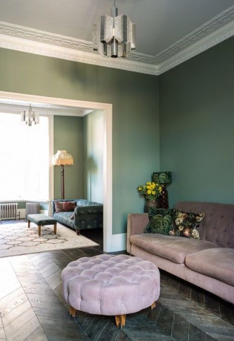 I Ve Always Been Obsessed With The Wall Colours Found In Michelle Kelly S Home After Victorian Living Room Victorian Terrace Interior Living Room Design Diy