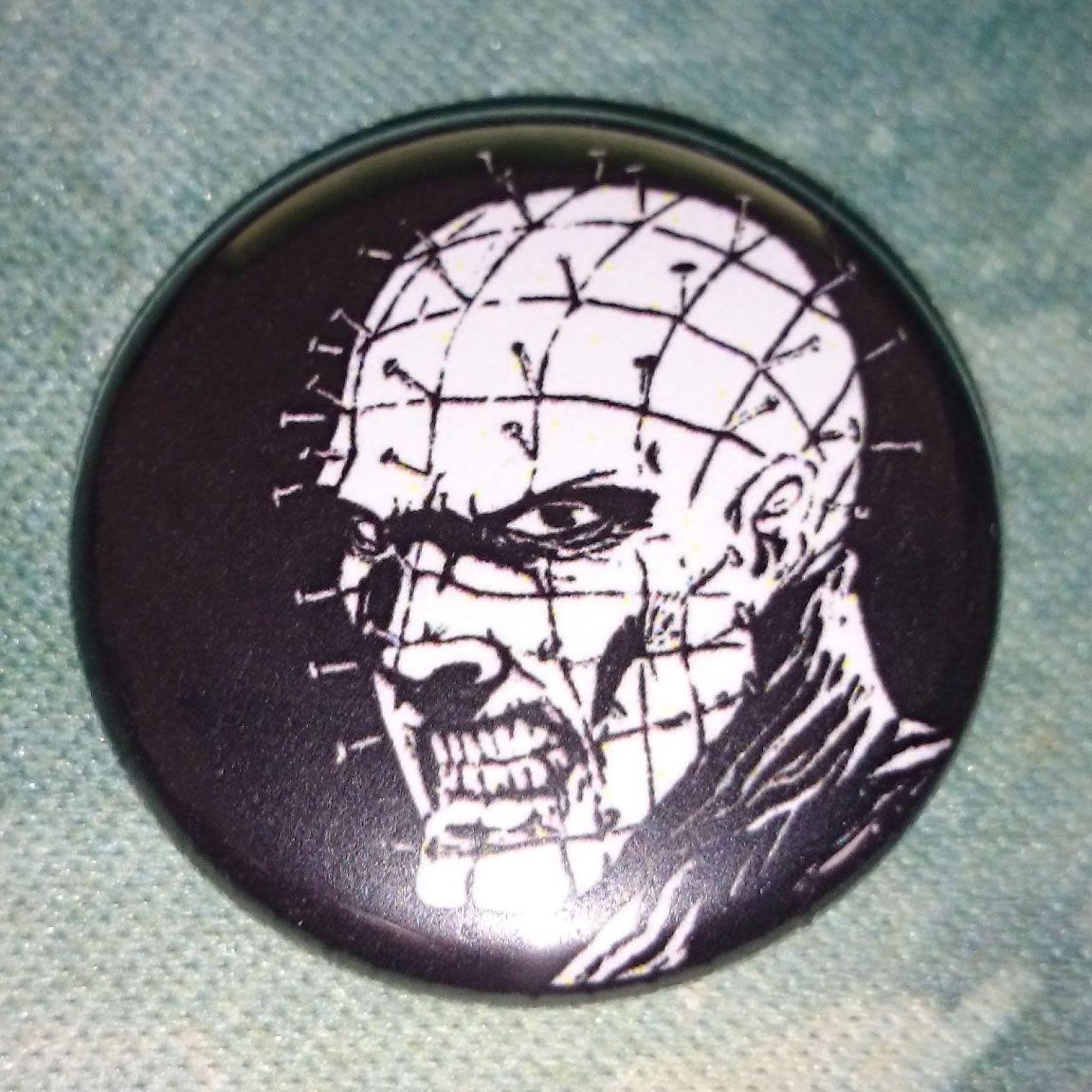 #Button #Badge #Hellraiser