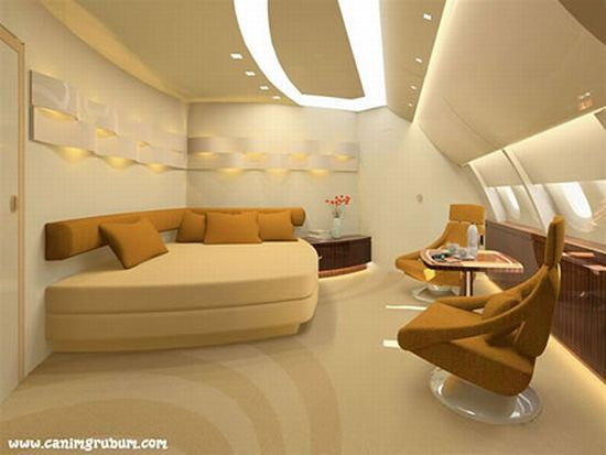 private airbus a380 interior | airbus a380 vip saloon 5