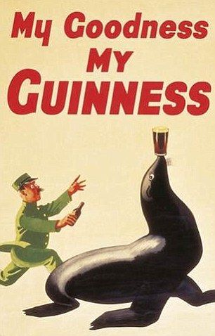 #Guinness#advs#advertising#oldstyle#vintageGuinness#vintageadvertising#zoo#guinnessZoo