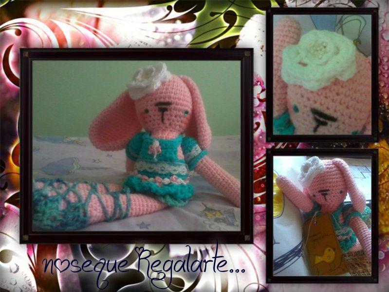 conejita bailarina crochet