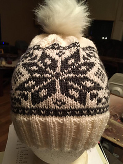 Hat pattern was designed with partial motif taken from this pattern: