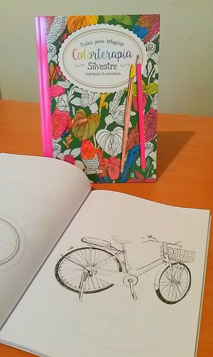 COLORTERAPIA #silvestre #viajes #bicicleta #pintar #terapia #colores ...