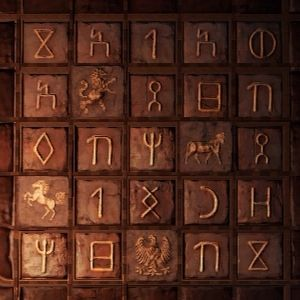 Great Image: Uncharted 3 Symbol Puzzle 01 Part 24