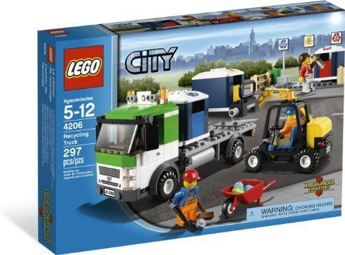 LEGO City Recycling Truck LEGO http://www.amazon.com/dp/B007B437D0 ...