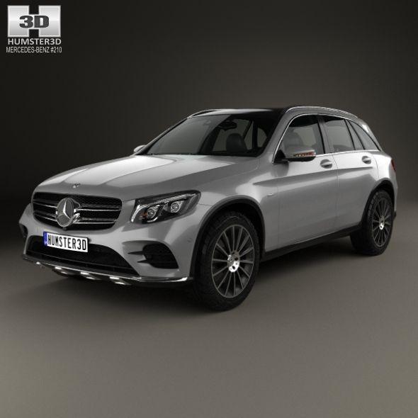 Mercedes Benz Glc Class X205 Amg Line 2015 3d Model: Mercedes-Benz GLC-Class (X205) AMG Line 2015. Fully