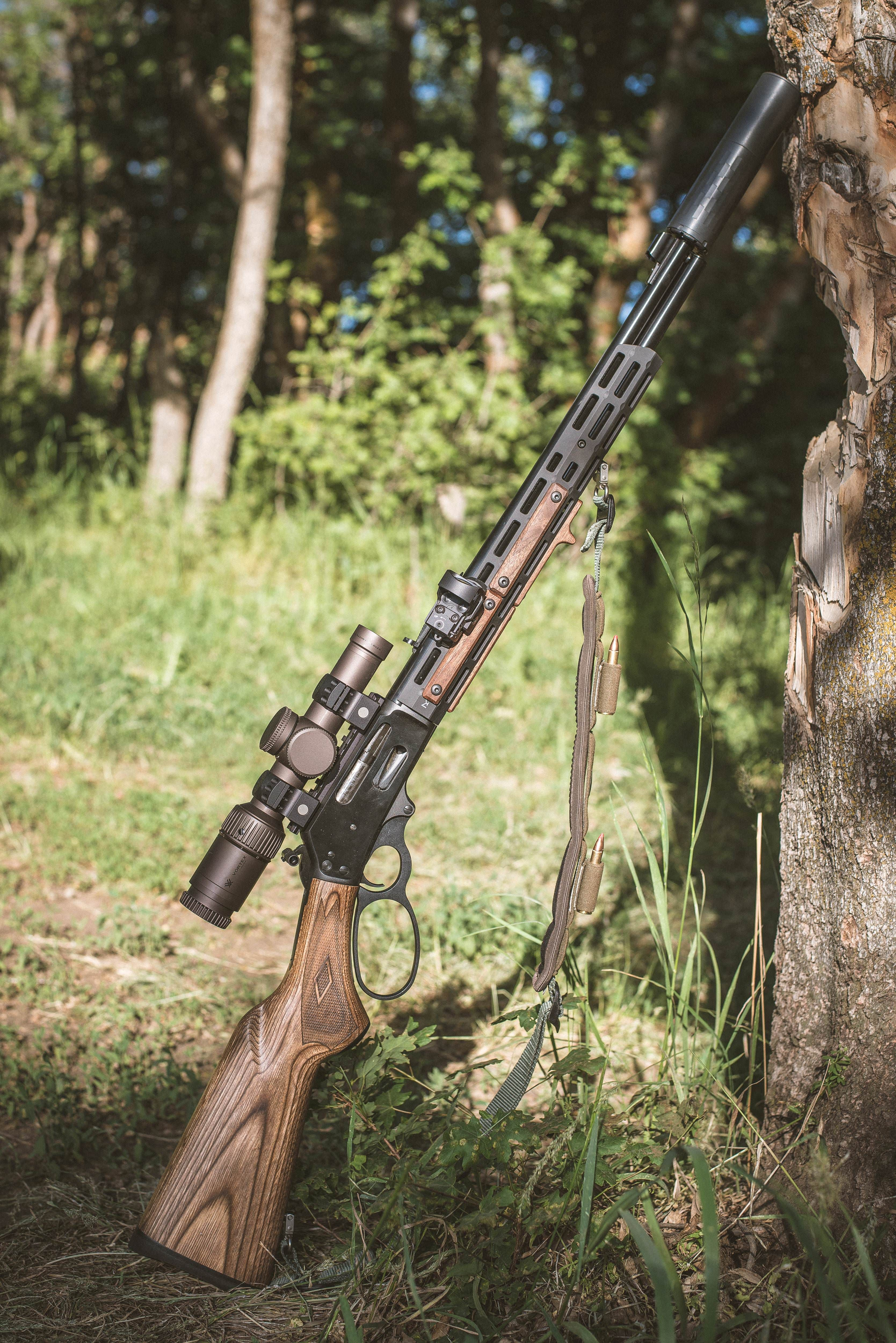 when tradition and modern collide my marlin 30 30 space cowboy [ocwhen tradition and modern collide my marlin 30 30 space cowboy [oc]