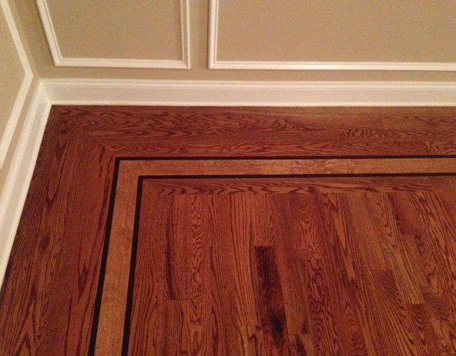 Hardwood Floor Borders Monmouth County Nj Hardwood Floors Flooring Dinning Room Flooring