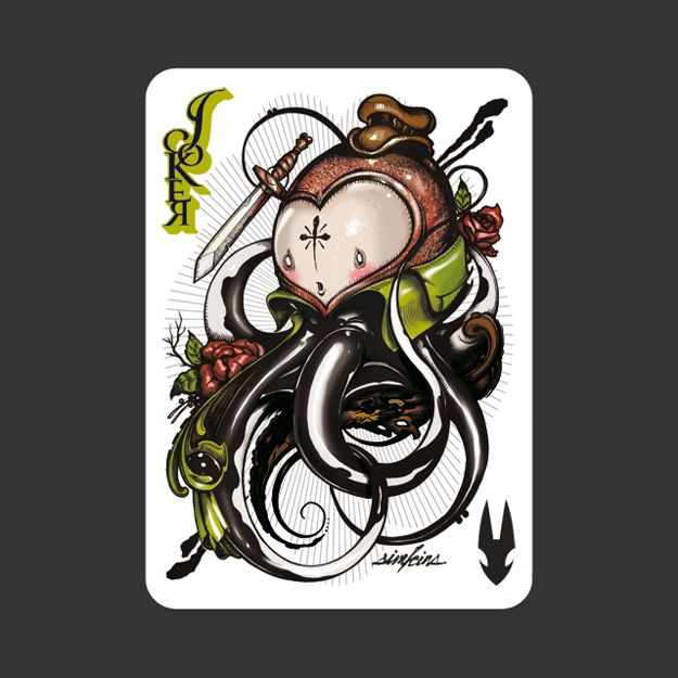 52 Ace Illustrators In One Deck Of Cards Joker Card Joker Playing Card Cards