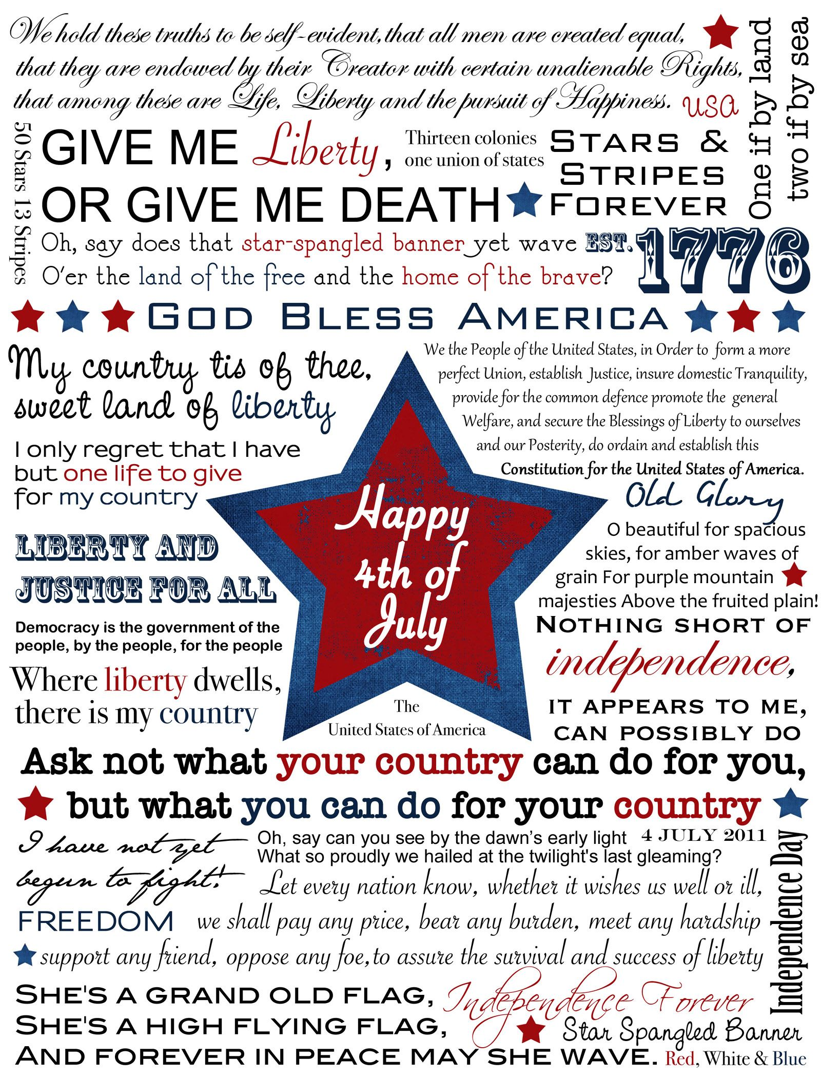4Th Of July Quotes 4Th Of July Fun Holiday Happiness Swartz  Swartz Electric