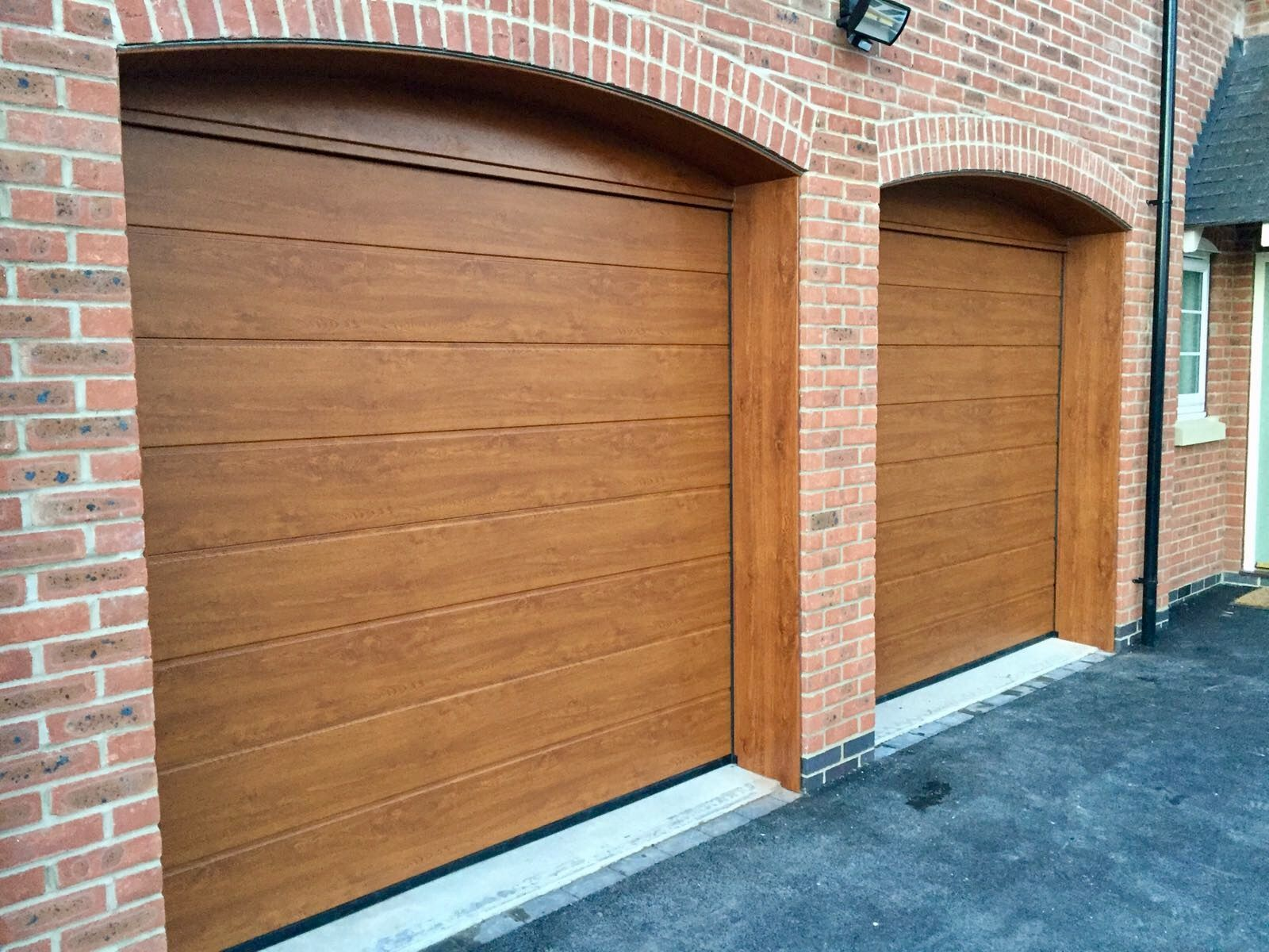 Hormann m rib sectionals golden oak garage doors pinterest cms doors quality range of garage front doors rubansaba