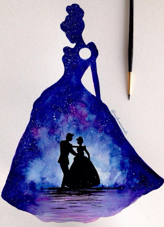 Cinderella disney dessins disney dessin et image peinture - Peinture princesse disney ...