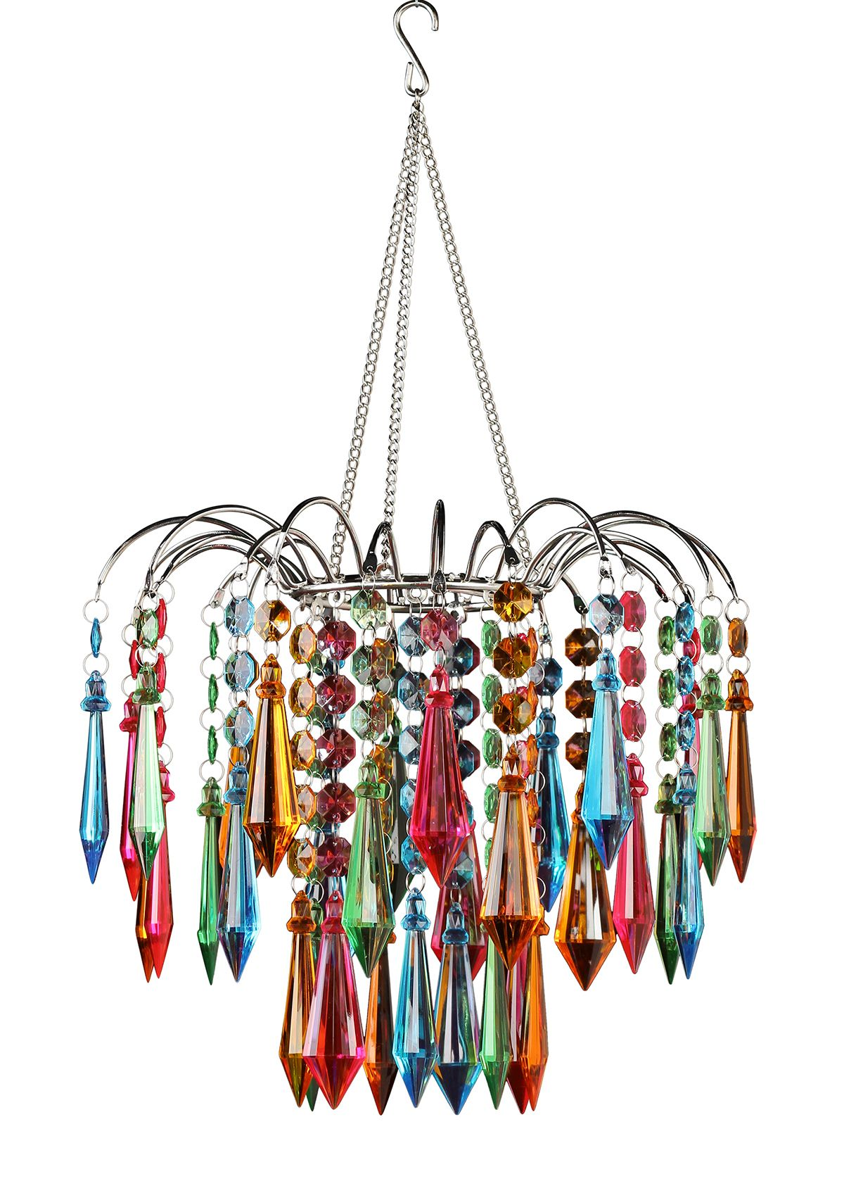 Multicolor chandelier chandeliers bedrooms and decorating multicolor chandelier mozeypictures Images