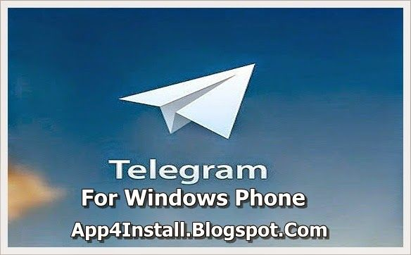 Install Free Mobile Apps Telegram VER 1.9.0.0 XAP Free