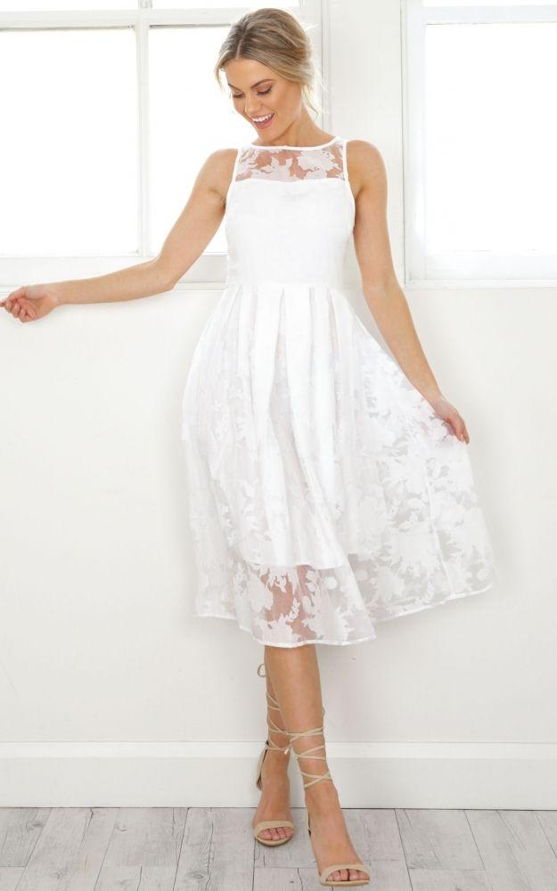 394f43a09655 Mad Tea Parties, Tea Party, White Dress, Flower Girl Dresses, Wedding Season