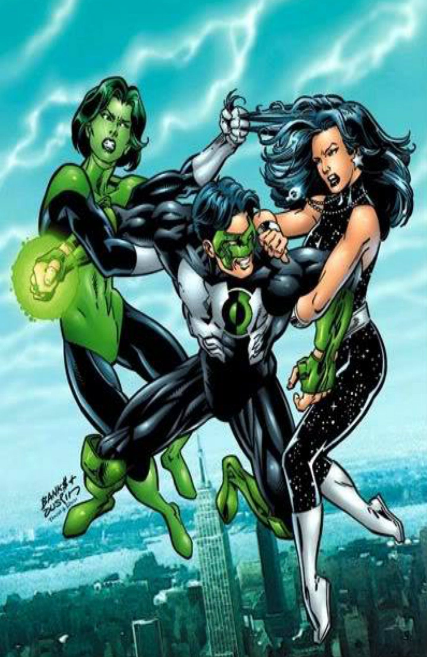 Image result for Donna Troy and Jade