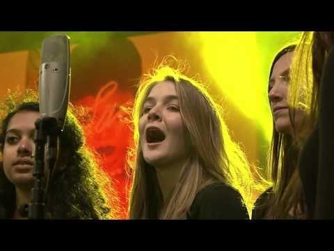 Capital Children S Choir Sing Coldplay Viva La Vida At Westfield Youtube Choir Viva La Vida Choir Music