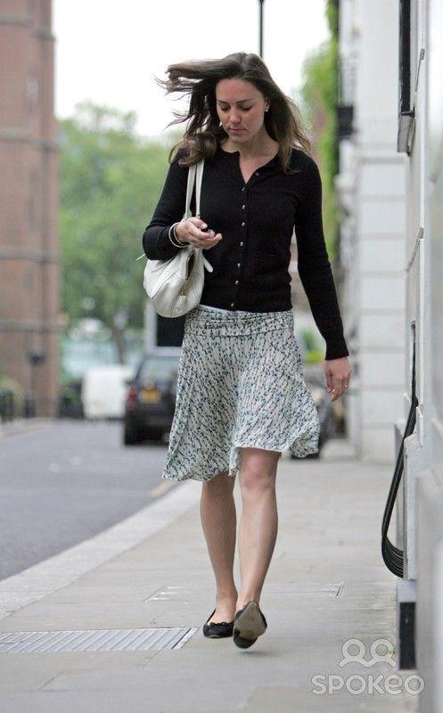 Kate Middleton leaving her house London, England - 03.0507