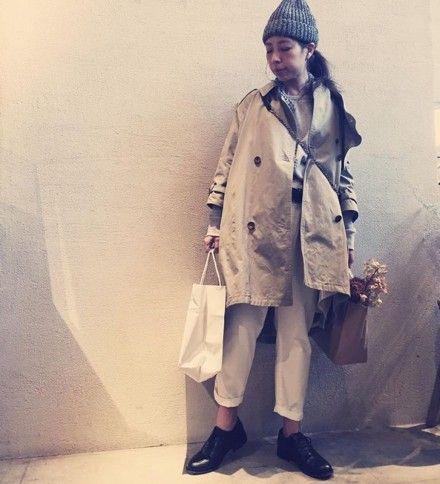 luxe3/9入荷予定 original big trench coat