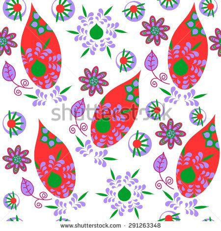 #paisley #pattern #seamless #flowers #floral #turkish #cucumber #blots #persian #asian #indian #cypress #pickles