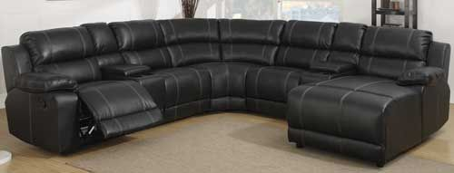 7 Piece Reclining Sectional w/ Chaise- Shop Puritan Furniture West Hartford : shop sectionals - Sectionals, Sofas & Couches
