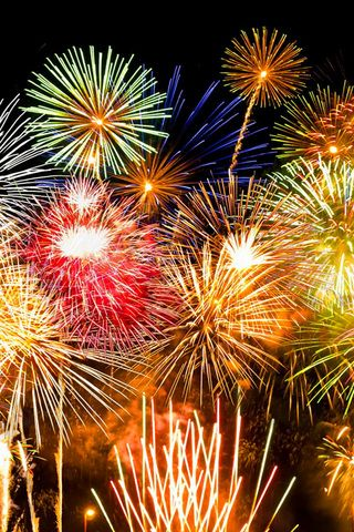 Fireworks iPhone Wallpaper   iPhone   Fireworks wallpaper, Fireworks, Happy new year 2016
