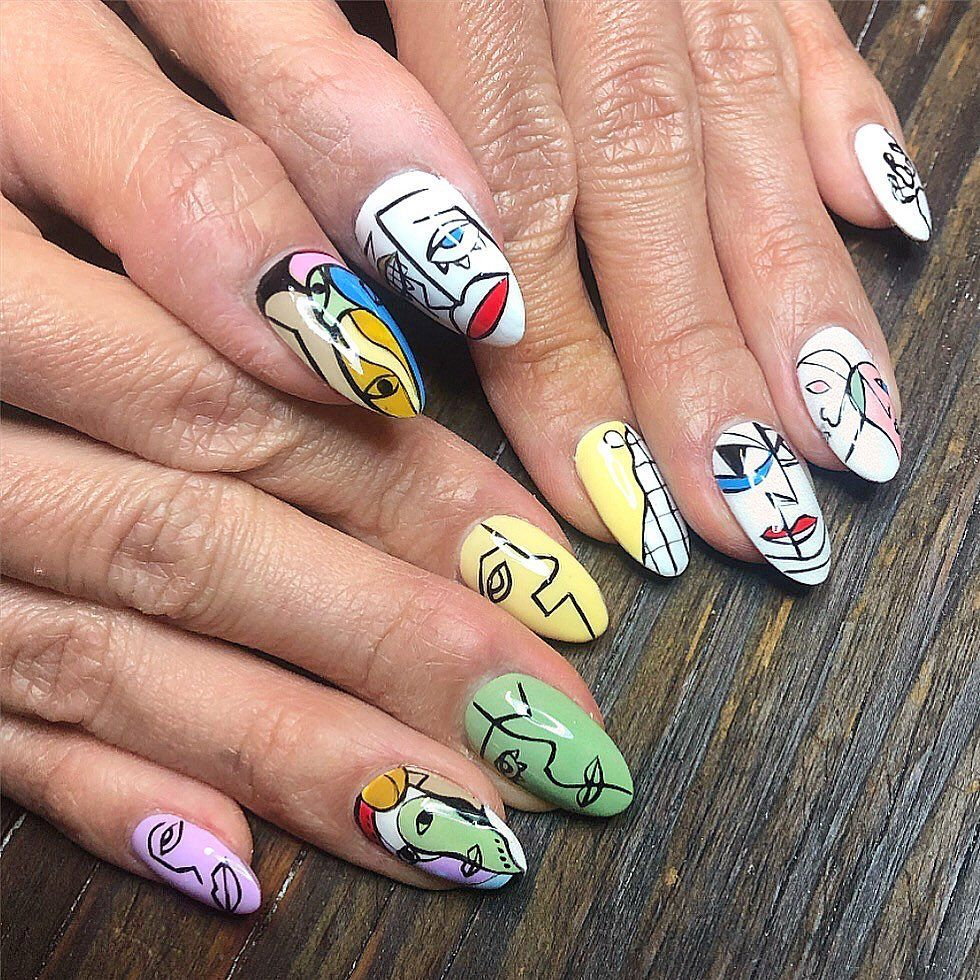 The Best Abstract Nail Art To See Before Your Next Salon Trip