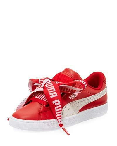 chaussure femme puma rouge