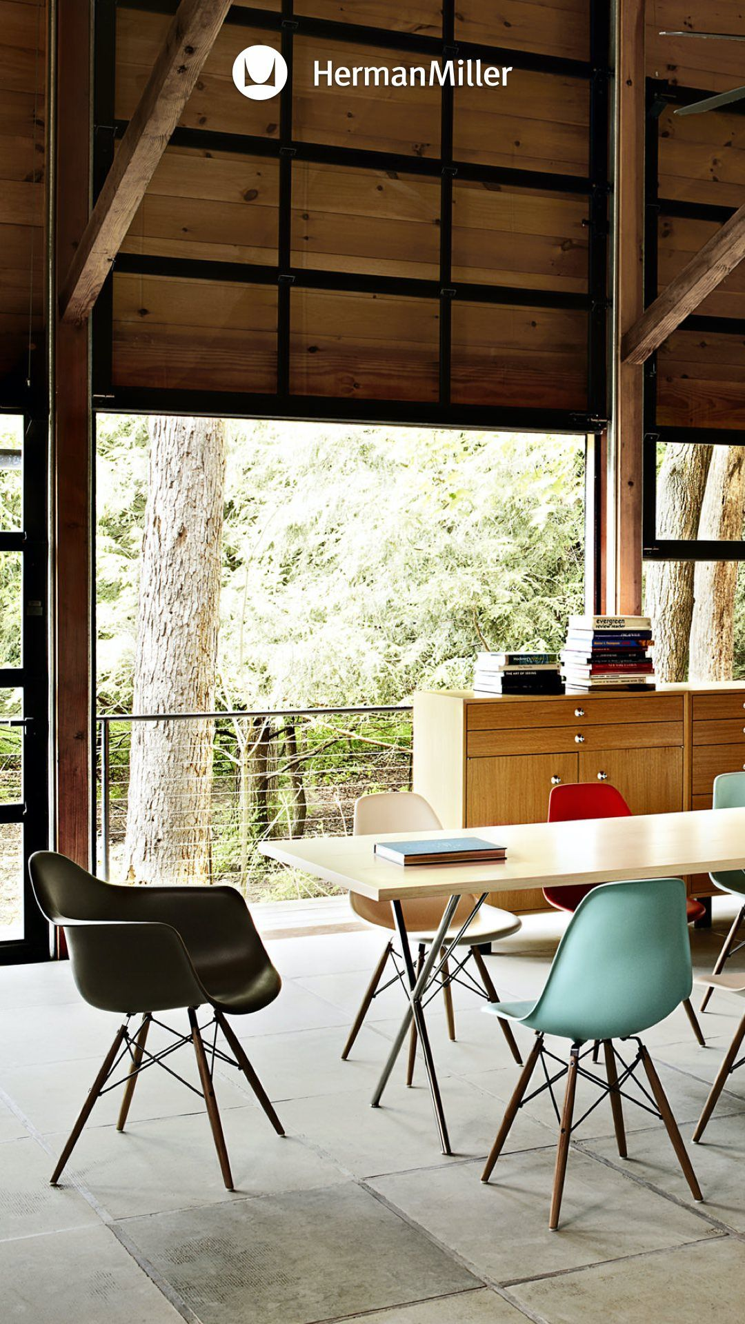 Eames Chair Dining Room, Herman Miller Dining Room Set